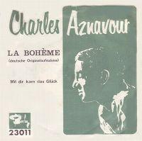Cover Charles Aznavour - La Bohème [Deutsche Aufnahme]